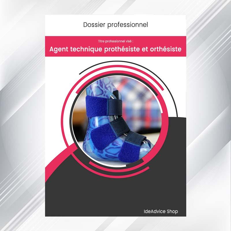 dossier professionnel agent technique proth u00e9siste et