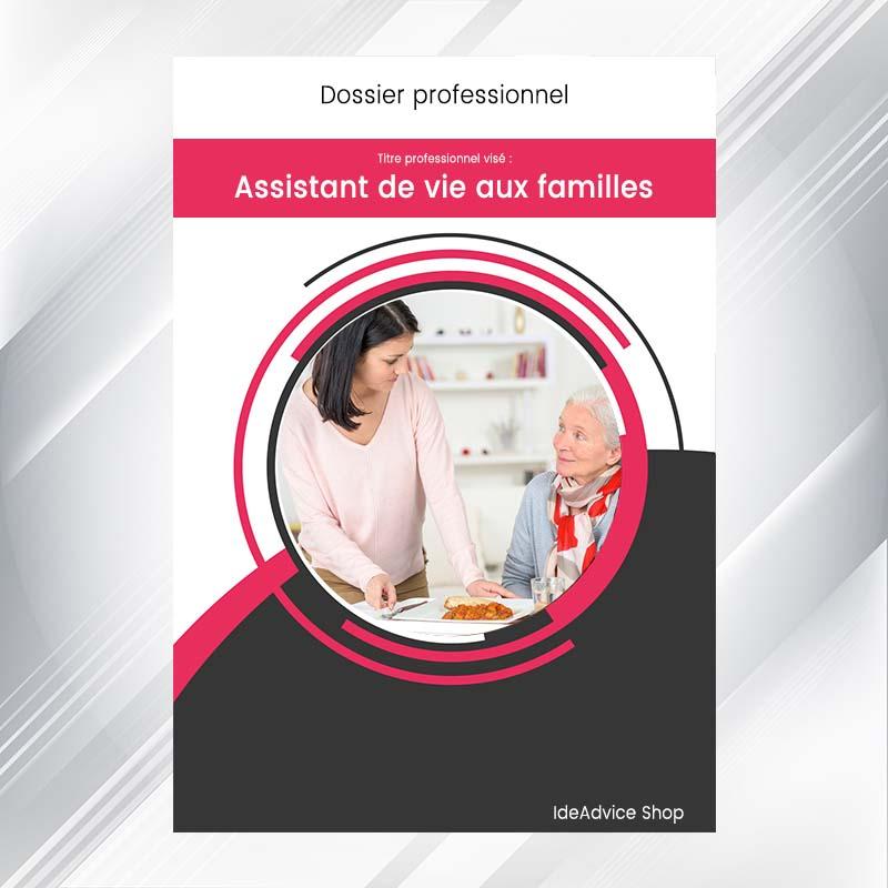 dossier professionnel assistant de vie aux familles