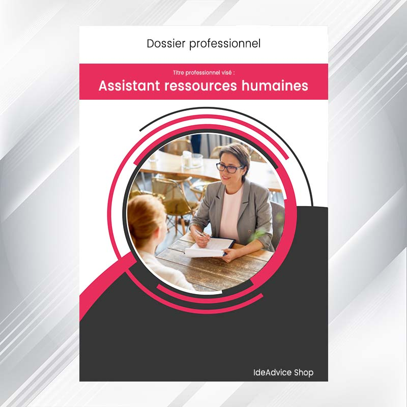 dossier professionnel assistant ressources humaines