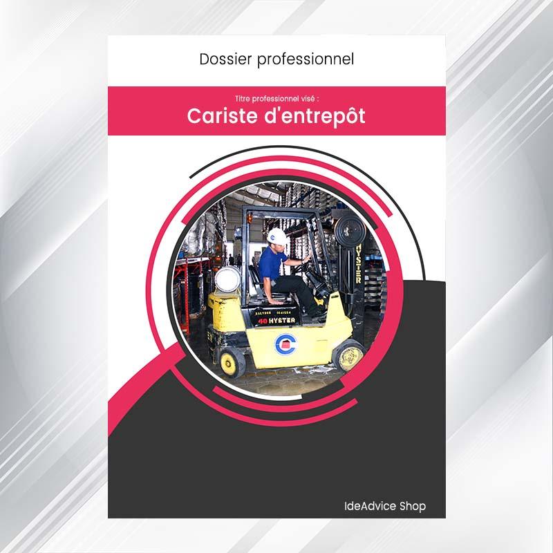 dossier professionnel cariste d u0026 39 entrep u00f4t