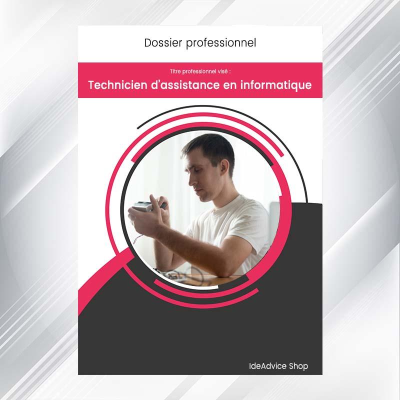 dossier professionnel technicien d u0026 39 assistance en informatique